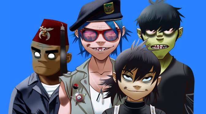 #87 Gorillaz – We Got The Power